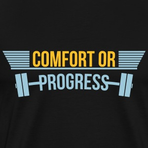 gymnase de confort ou de remise en forme Progress - T-shirt Premium Homme