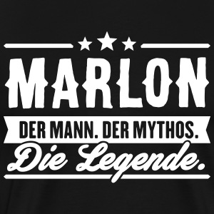 Man Myth Legend Marlon - Men's Premium T-Shirt