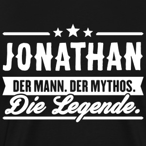 Man Myth Legend Jonathan - Men's Premium T-Shirt