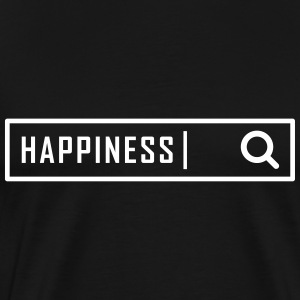 Search happiness - Men's Premium T-Shirt