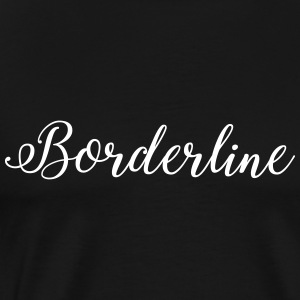 SIIKALINE BORDERLINE - Mannen Premium T-shirt
