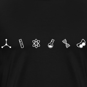 Science Symbols - Men's Premium T-Shirt