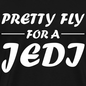 Pretty Fly For A JEDI - Männer Premium T-Shirt