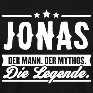 Man Myth Legend Jonas - Men's Premium T-Shirt