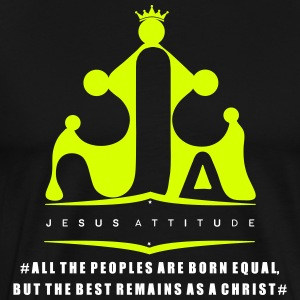 All the peoples are born equal... - T-shirt Premium Homme