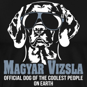 MAGYAR VIZSLA - official dog of the coolest people - Männer Premium T-Shirt