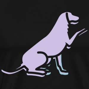 A Loyal Dog - Men's Premium T-Shirt