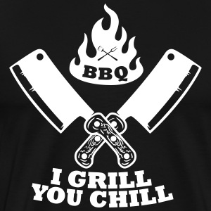 Barbecue grill froid - T-shirt Premium Homme