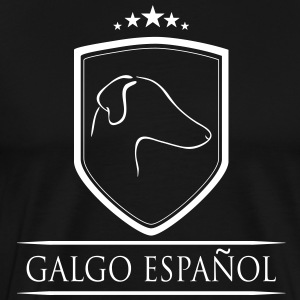 GALGO ESPANOL COAT OF ARMS - Men's Premium T-Shirt