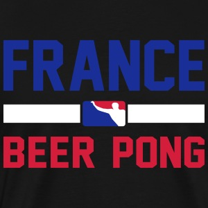 France Beer Pong - Männer Premium T-Shirt