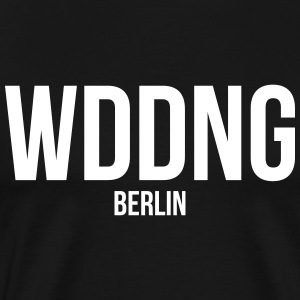 WEDDING BERLIN - Men's Premium T-Shirt