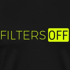 Filters OFF - Mannen Premium T-shirt