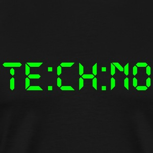Techno Digital - Premium T-skjorte for menn