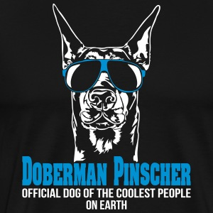 DOBERMAN PINSCHER coolest people - Doberman - Men's Premium T-Shirt