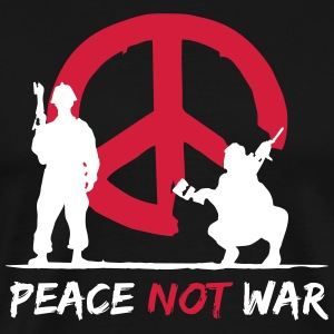 Peace was not - Men's Premium T-Shirt