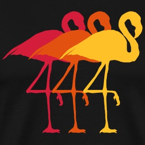 Flamingo Trio Rosa - Men's Premium T-Shirt