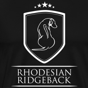 RHODESIAN RIDGEBACK COAT OF ARMS - Men's Premium T-Shirt
