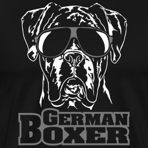 GERMAN BOXER cool - Männer Premium T-Shirt