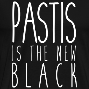 Pastis is the new black - T-shirt Premium Homme
