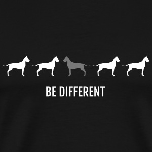 Dogge - Be Different - Männer Premium T-Shirt