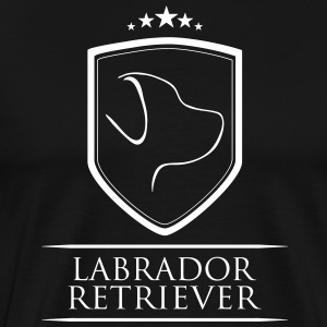 Labrador retriever ARMS - Premium T-skjorte for menn
