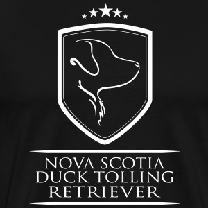 Nova Scotia Duck Tolling Retriever ARMS - Premium T-skjorte for menn