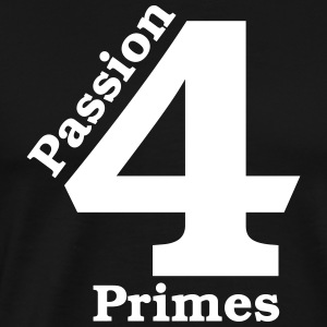 Passion for Primes - præference for Festbrennbweiten - Herre premium T-shirt