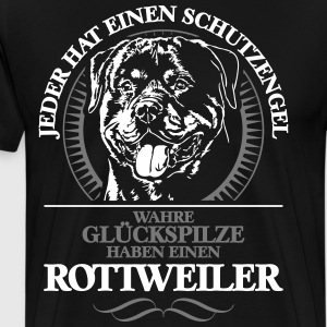 ROTTWEILER Guardian Angel - Premium-T-shirt herr