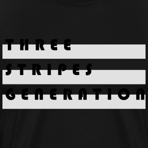 Three stripes generation - Men's Premium T-Shirt