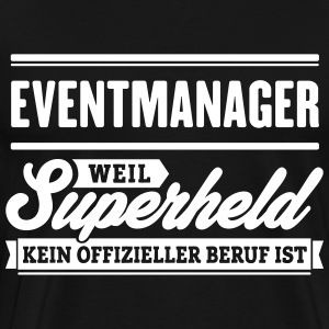 Superheld Eventmanager - Männer Premium T-Shirt