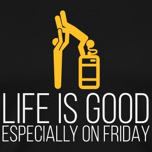 Life Is Good On Fridays - Men's Premium T-Shirt