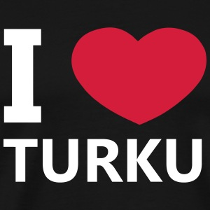 I Love Turku - Men's Premium T-Shirt