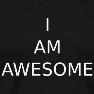 IK BEN AWESOME - Mannen Premium T-shirt