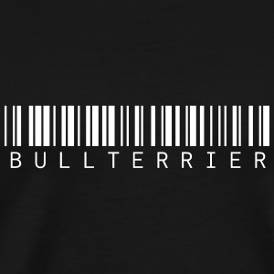 Bullterrier Barcode wording - Men's Premium T-Shirt
