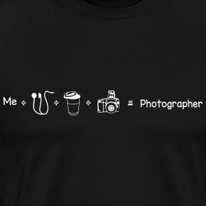 Photographer - Männer Premium T-Shirt