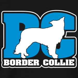 BORDER COLLIE BC - Men's Premium T-Shirt