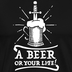 beer or life - Men's Premium T-Shirt