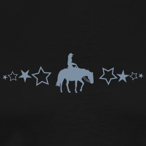 Pleasure Horse with stars - Men's Premium T-Shirt