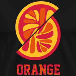 orange orange - Männer Premium T-Shirt
