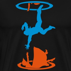 There is always a portal - Men's Premium T-Shirt