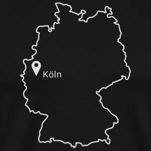 Place to be: Keulen - Mannen Premium T-shirt