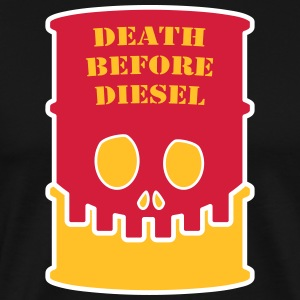 Death before diesel - Men's Premium T-Shirt