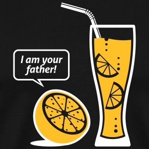 Lemonade, jeg er din far! - Herre premium T-shirt