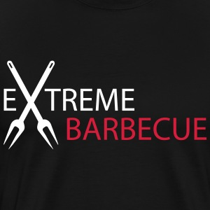 ekstrem Barbecue - Premium T-skjorte for menn