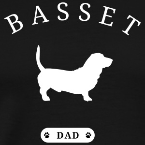 Basset Dad - Men's Premium T-Shirt