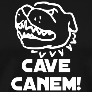 Cave Canem! Caution guard dog! - Men's Premium T-Shirt