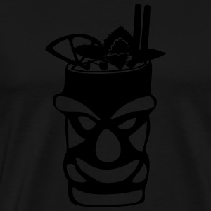 Tiki Mug - Men's Premium T-Shirt