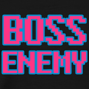 Boss Enemy - bazen 8bit - Mannen Premium T-shirt