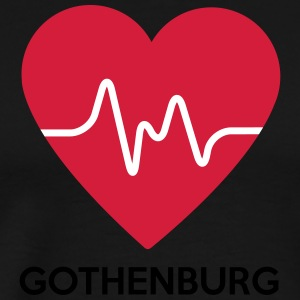 Coeur Gothenburg - T-shirt Premium Homme