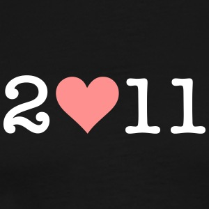 I Love 2011! - Men's Premium T-Shirt